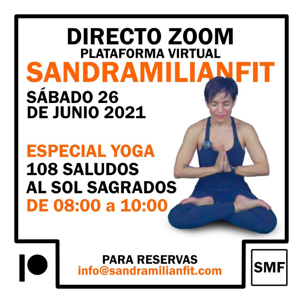 Especial Yoga 108 Saludos al Sol Sagrados