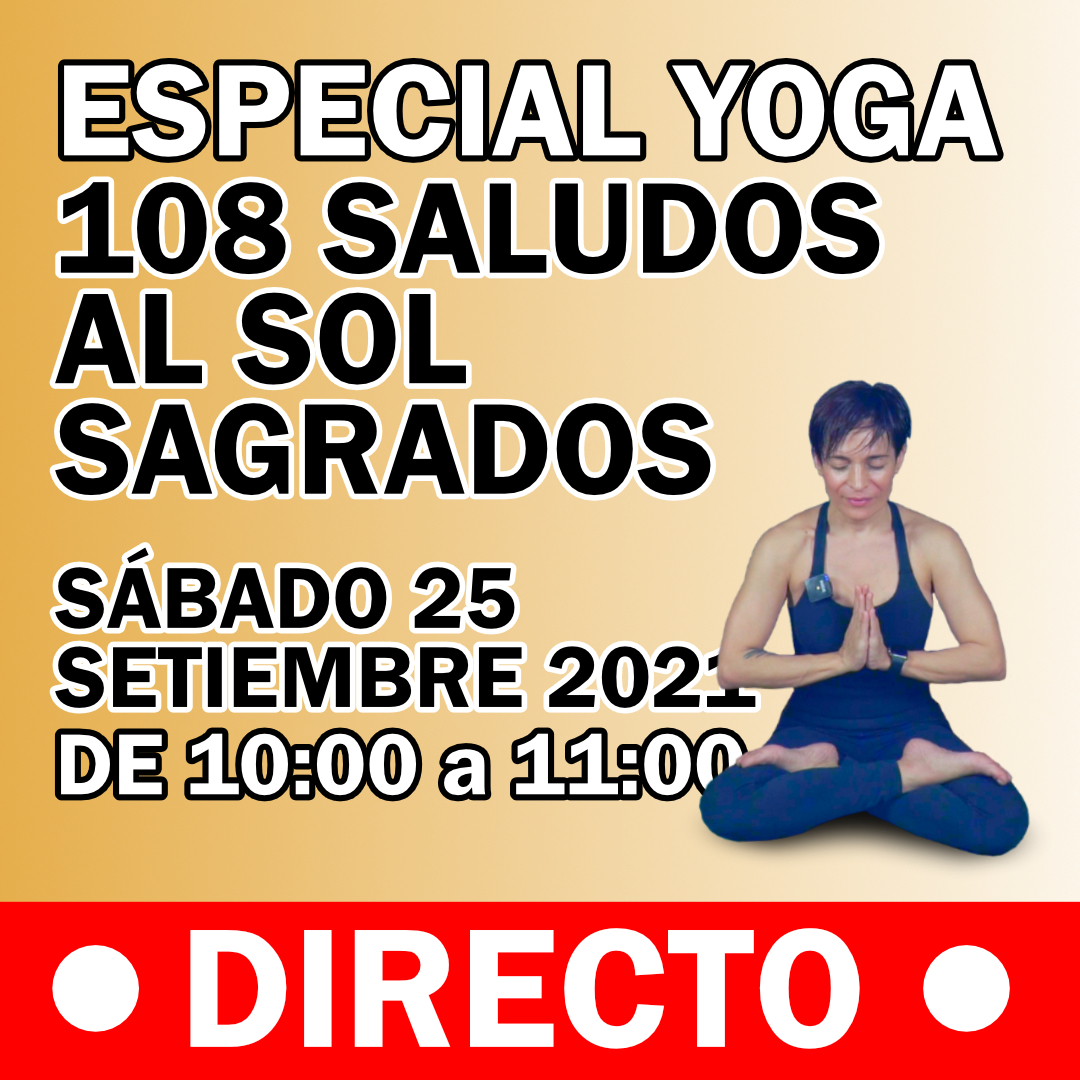 108 Saludos al Sol - Especial Yoga - square